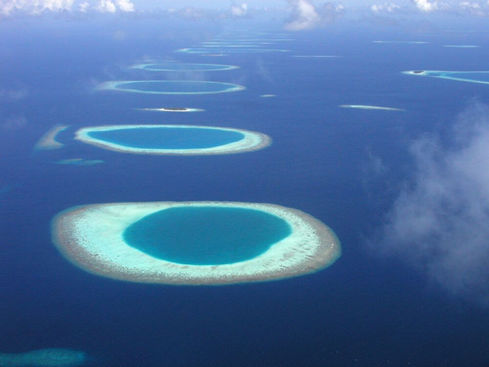 Dónde está Atolls of the Maldives, Maldivas