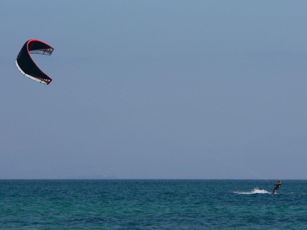 kitesurf.