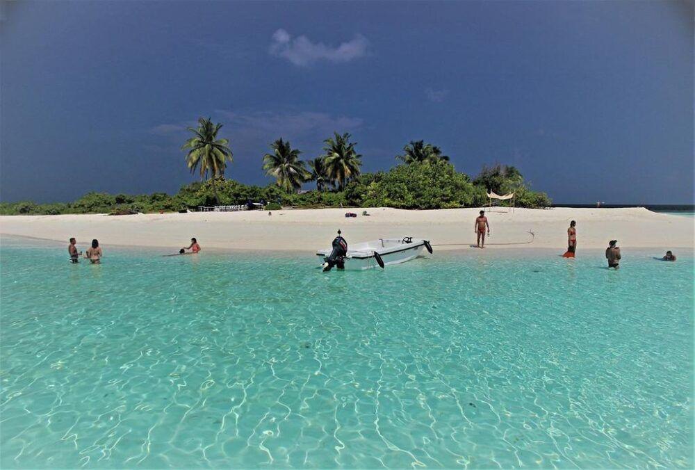 Hangnaameedhoo en Maldivas