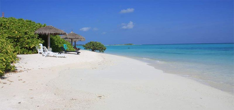 Dónde está Bikini Beach, Maldivas