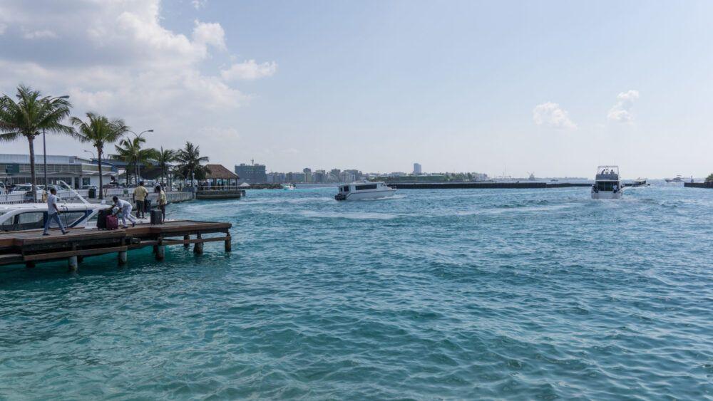 Ferry Terminal Park, Maldivas