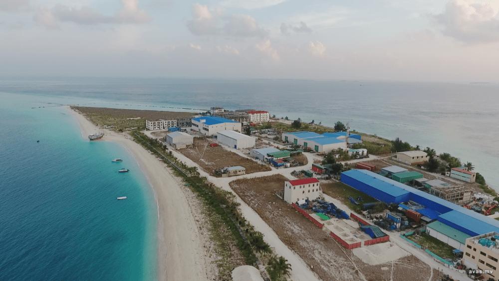 Gulhi Falhu en Maldivas