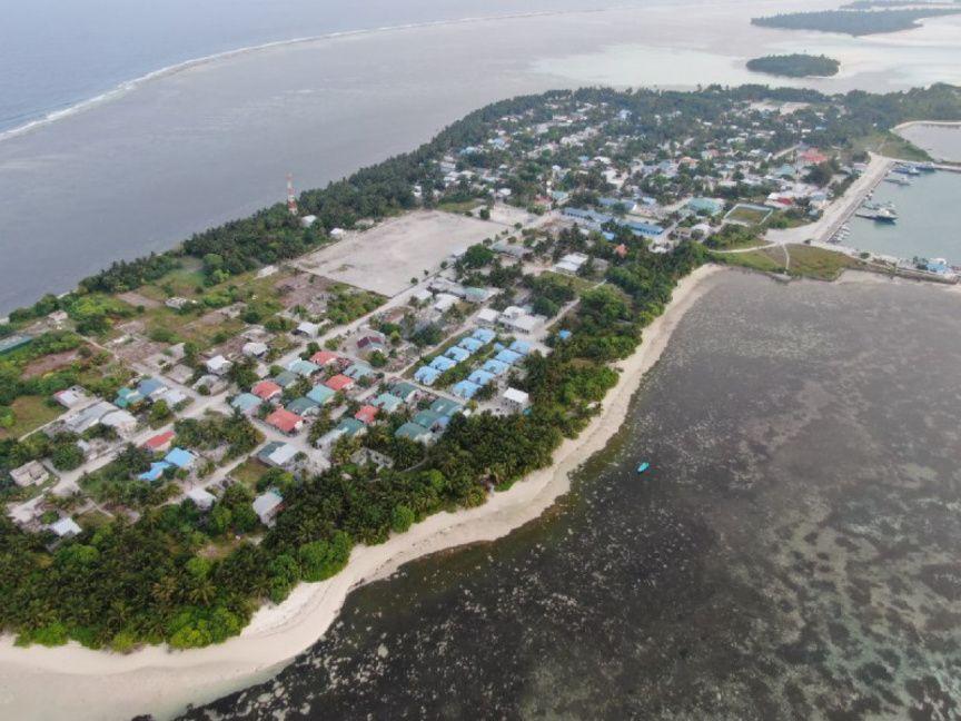 Dónde está Maamendhoo, Maldivas