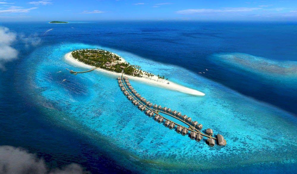 Maamigili en Maldivas