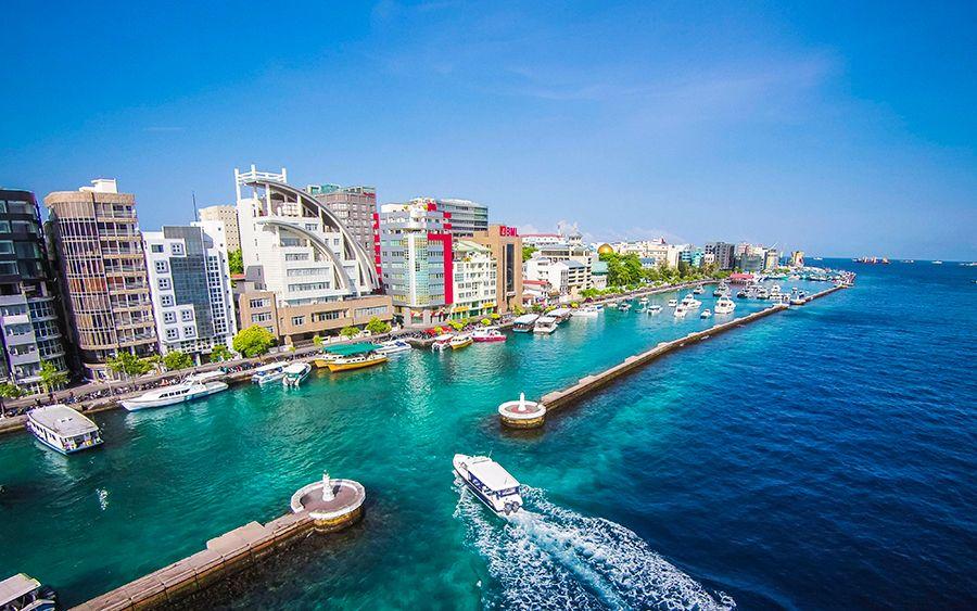 Hoteles en Malé