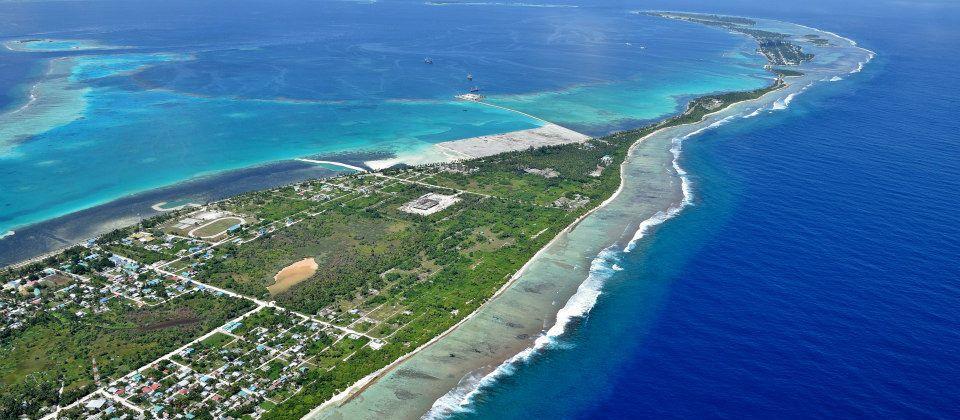 Dónde está Maradhoo, Maldivas