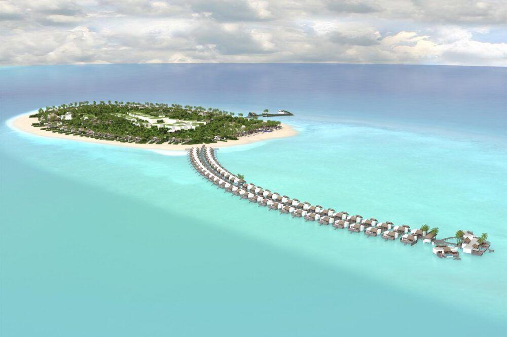 Dónde está Olhuhali, Maldivas