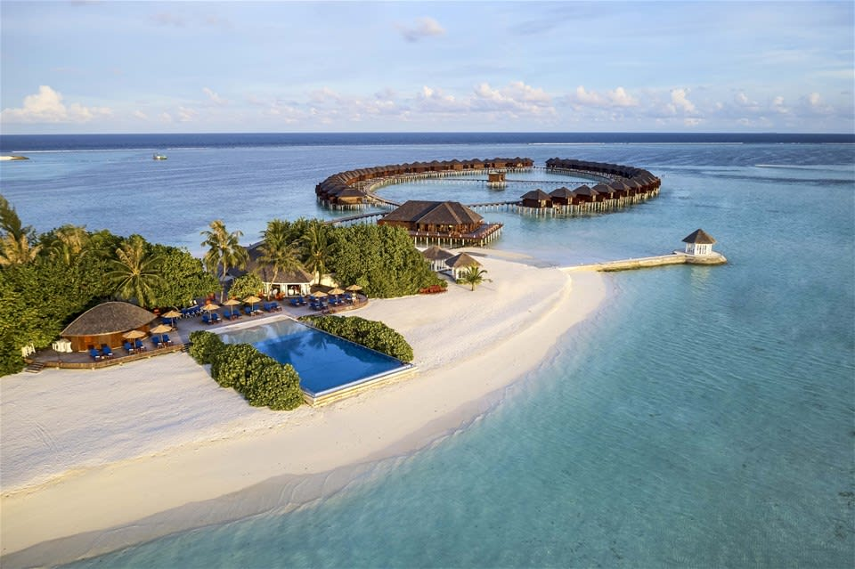Dónde está Olhuveli, Maldivas