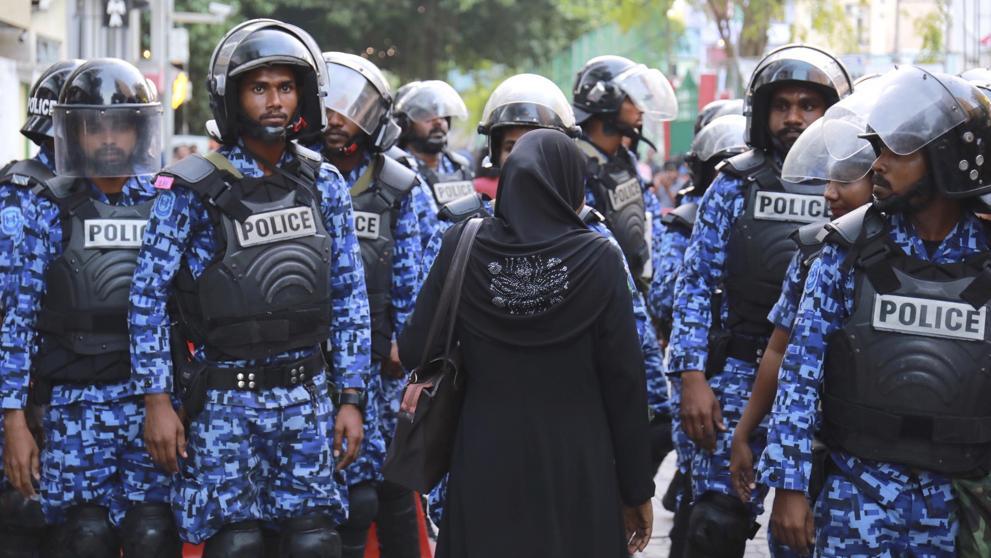 Seguridad en Maldivas