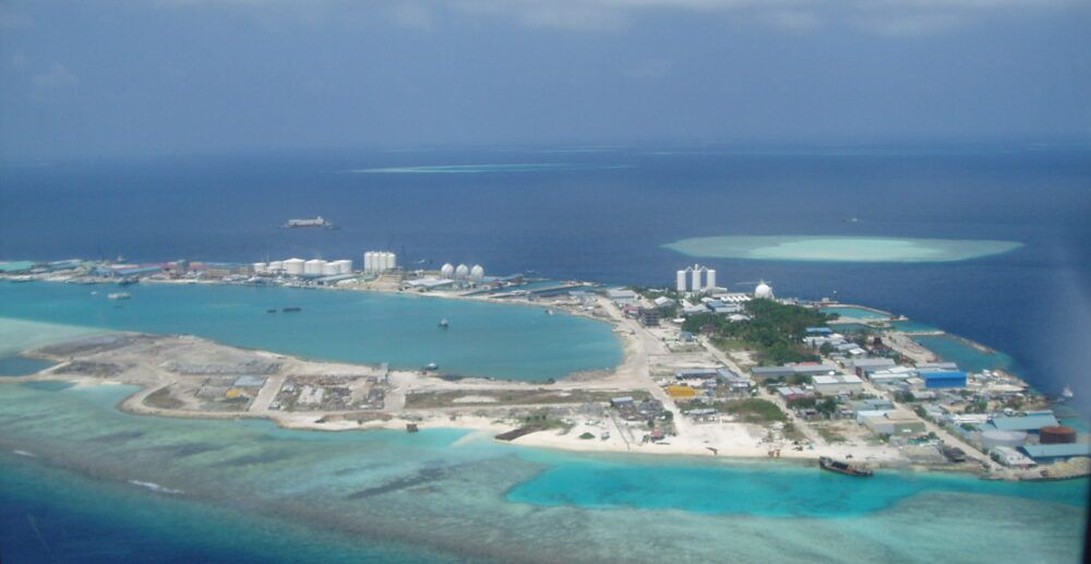 Thilafushi, Maldivas