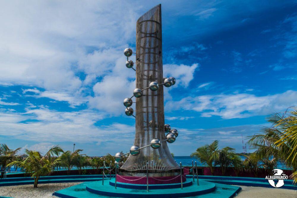 Tsunami Monument, Maldivas