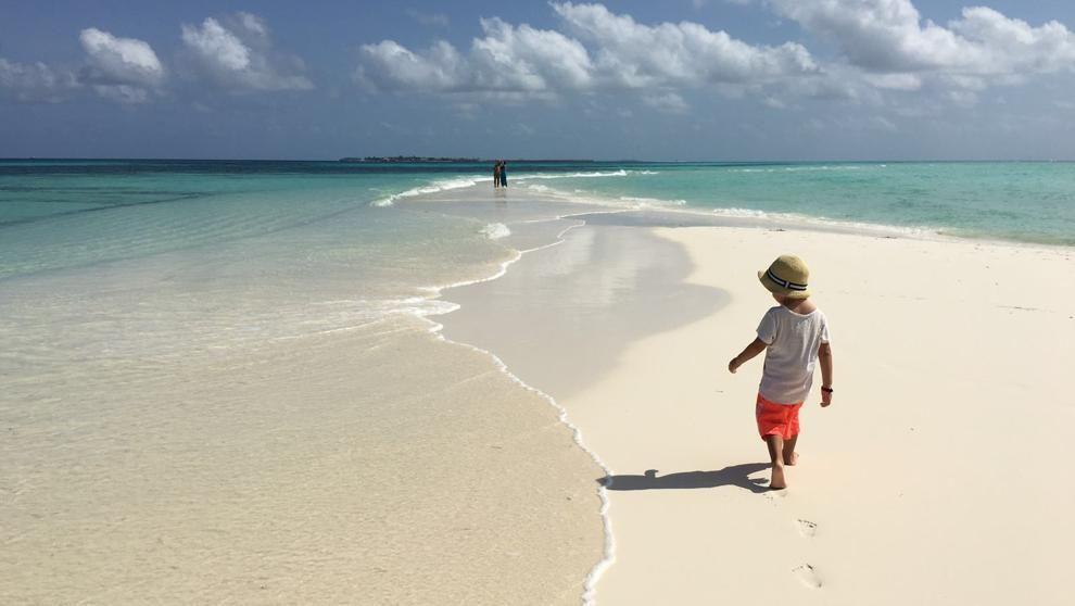 Viajar a Maldivas con niños